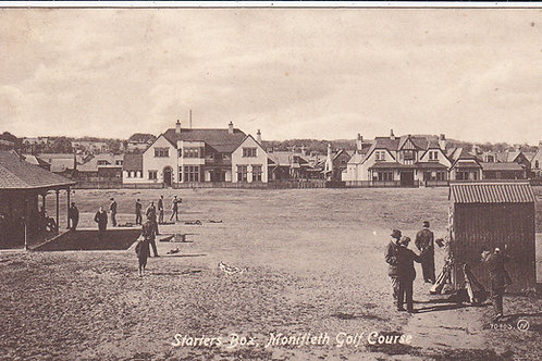 Monifieth Golf Links & Starters Box Ref.653  C.1915Ref 653