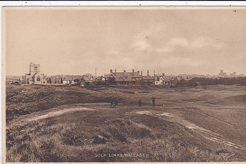 Wallesey Golf Links Ref.1550 C.1910-18