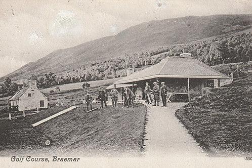 Braemar Golf House & Course Ref 1238 C.1909