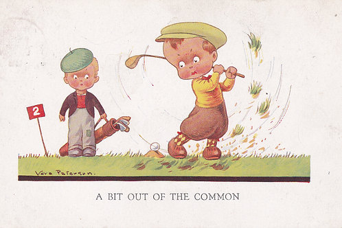 Comic Golf (Childrens) V Paterson. Ref 842 C.1932