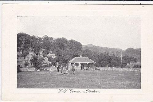 Aberdour Golf Pavillion circa 1910 (Ref 1400)