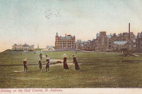 St Andrews.On the Golf Links Ref.2554 C.pre 1904