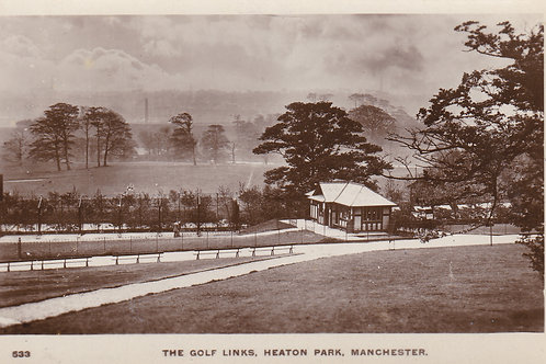 SOLD>Ref.964.Heaton Park Golf Course M/Cr Ref 964 C.1900-15