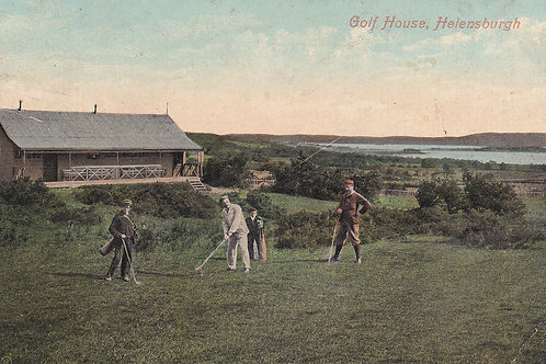 Helensburgh Golf House.Ref 735. C.Early 1909