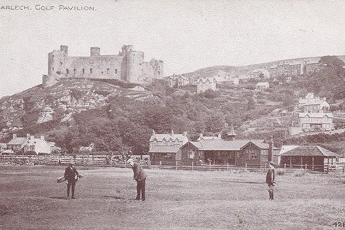Harlech Golf Pavilion & Castle Ref.2210a C.1910-18