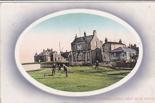 Innerleven & Thistle (Leven) Club Houses Ref.1186 C.1911