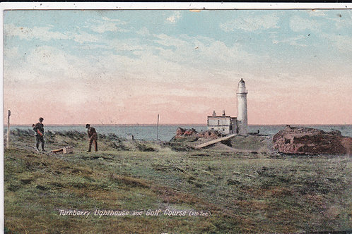 Turnberry Lighthouse/7th Tee Ref.1455 C.1909