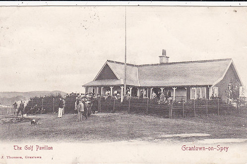 Grantown Golf Pavilion Ref.165 C.1906