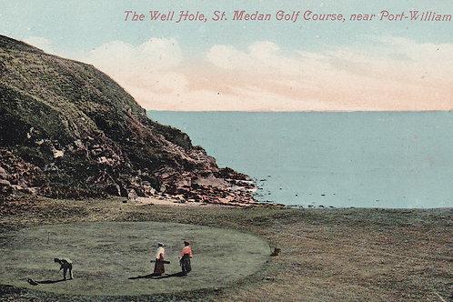 St.Medan Golf Links,D & G.Ref 343. C.1902-04