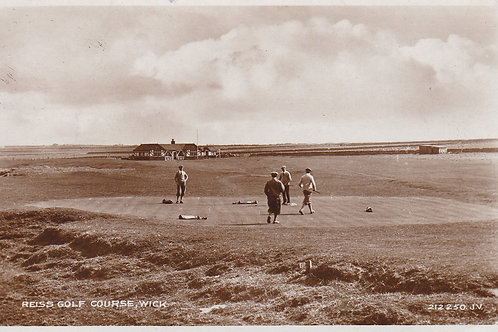 (Reiss)Wick Golf Links, Ref.2219a C.1939s