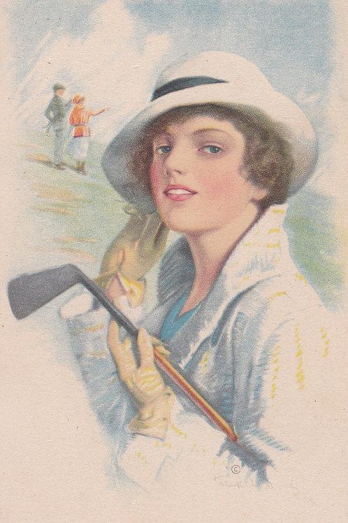 GolfArt/Fashion PC Ref.2125a C.Ea 1900s