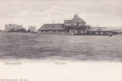 Sheringham Golf Links & Club House Ref.909a C.1903-08
