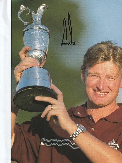 Signed British Open Championship Annual Ref.067 Muirfield 2002