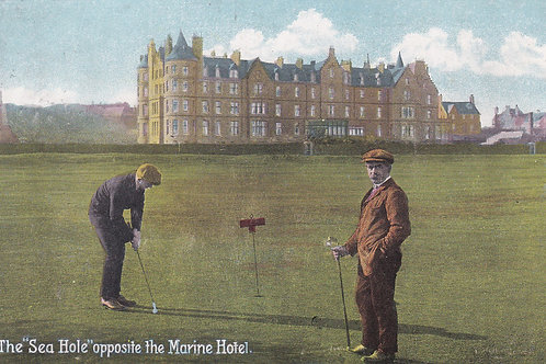 Ben Sayers at North Berwick  Ref.1851 C.1912