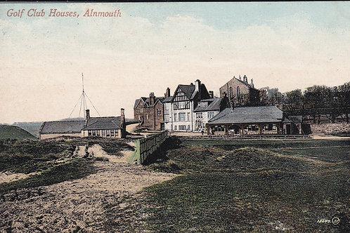 Alnmouth Village Club.9 Hole. Ref 478 C.1909