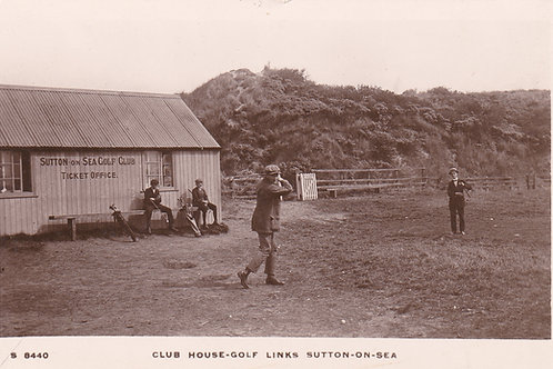 Sutton-On-Sea Golf Club House.Ref.125. C.1905-15