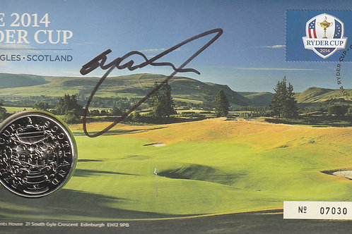 Graeme McDowell Signed Ryder Cup Commemorative Cover Ref.RC. 113