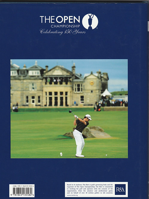 Signed British Open Championship Annual Ref.350 St.Andrews 2010
