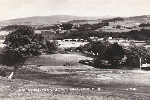 New Galloway Links & Club House. Ref 035 C.1930s