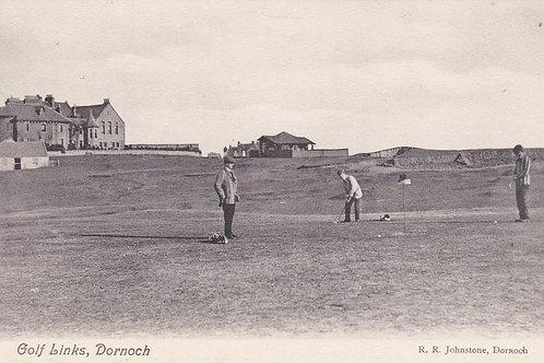 Dornoch Golf Links Ref.1115 C.Ea 1900s