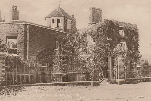 Rye & Camber Golf Dormy House Ref.088a C.Ea 1900s