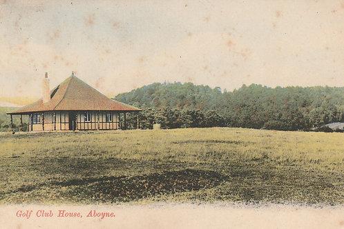 Aboyne Golf Pavilion Ref.2393 C.1907