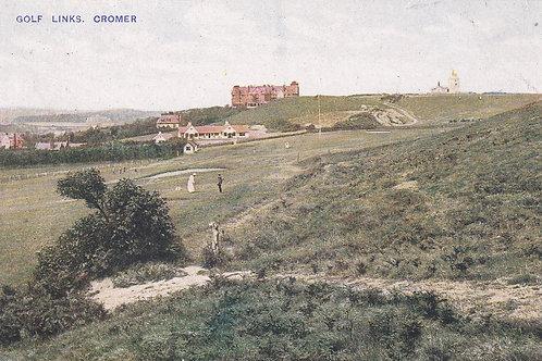 SOLD.Ref.025.Cromer Golf Links & Hotel.Ref 025. C.E.1900s