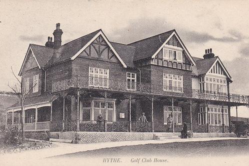 Hythe Golf Club House  Ref.589a C.pre 1914