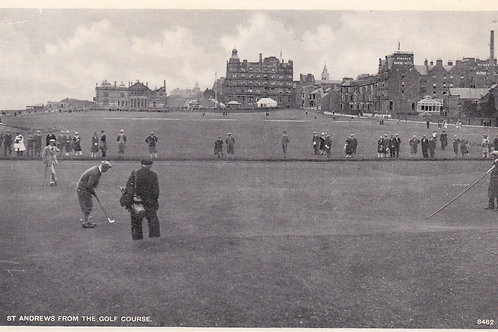 St.Andrews from The Golf Course.Ref 752  C.1930s