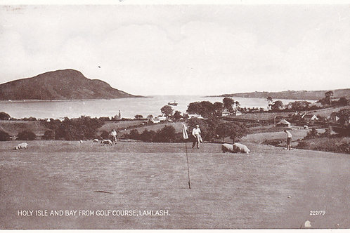 Lamlash Golf Links Ref.2115a C.1930s