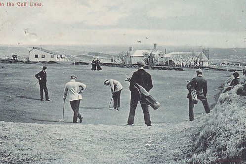 James Braid v J.H.Taylor Lelant Ref.160 C.pre 1914