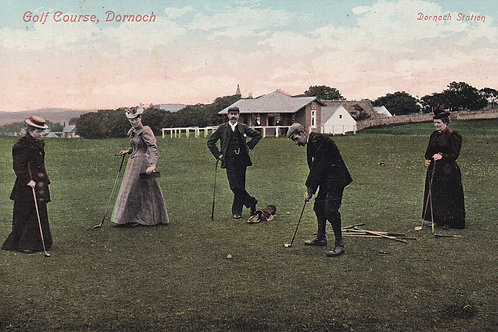 Dornoch Golf Links C.Ea 1900 Ref.455