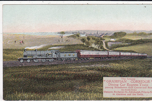 Stonehaven.Grampian Corridor Express Ref.1392