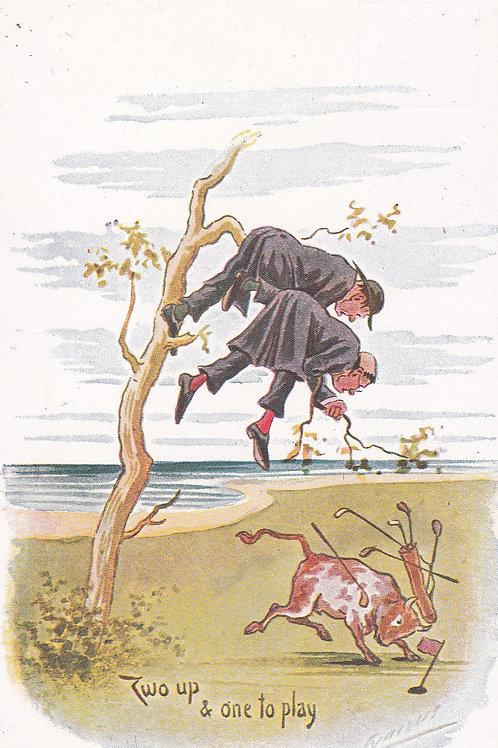 Comic Golf PC Cynicus Ref.1923 C.1902-04