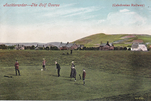 Auchterarder Golf Course Ref 808 C.Early 1900