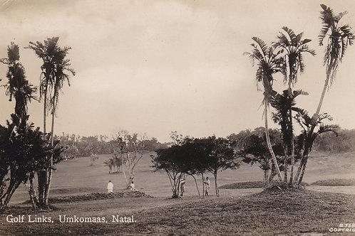 Umkkomaas Golf Links Natal SA.Ref 381  C.1931