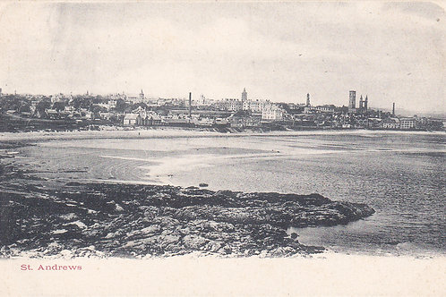 St.Andrews from the Harbour.Ref 460. C.Early 1900s