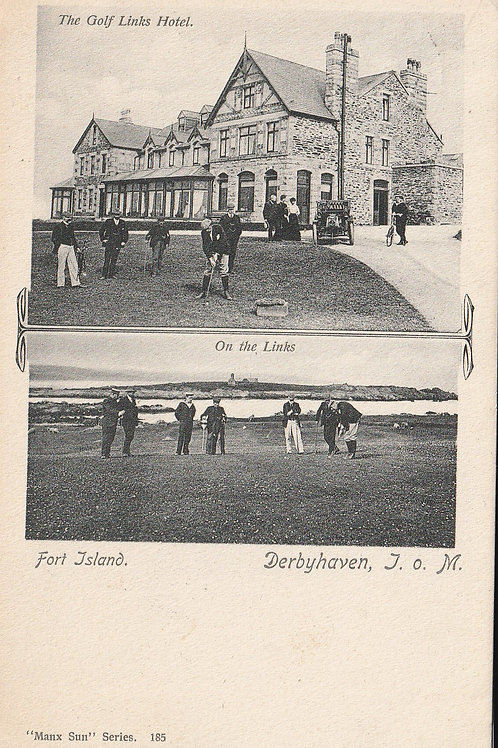 Castletown Golf Links & Hotel Derby Haven Ref.630a C.1907