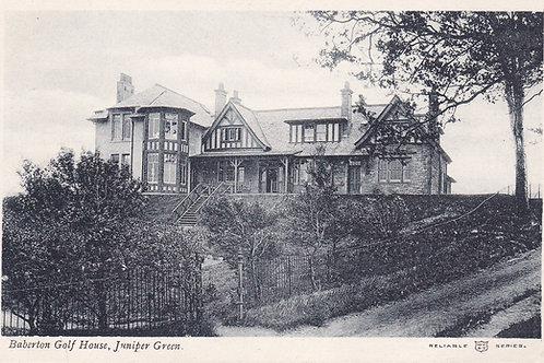 Baberton Golf House C.1905-10 Ref.425