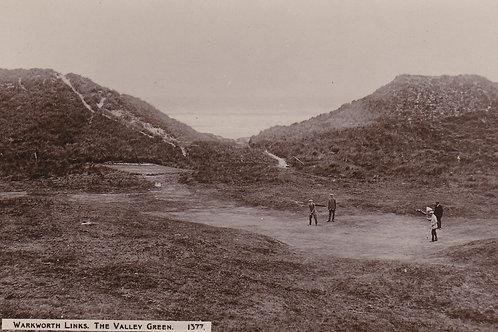 Warkworth Links,The Valley Green.Ref 697. C.1921