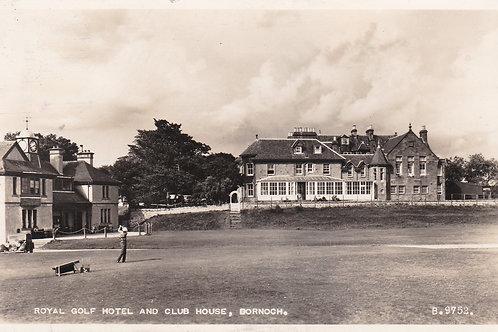 Dornoch Golf Club House Ref.2273a C.1950