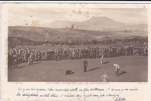 Braid Hills Dispach Trophy Ref.1398 C.1903