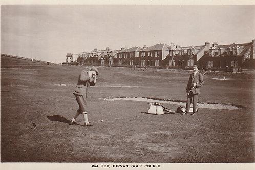 Girvan Golf Links Ref.2584 C.1920?