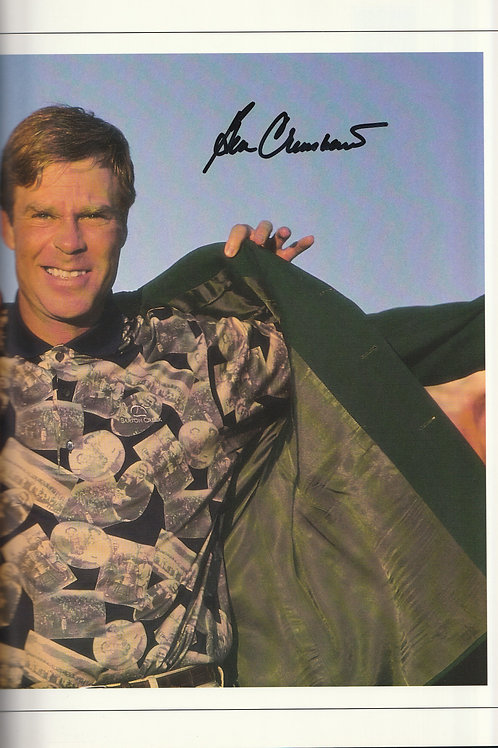 1995 Ben Crenshaw Signed Masters Annual Ref.MM. 731