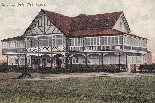 Mitcham Golf Pavilion  Ref.2039a C.1905