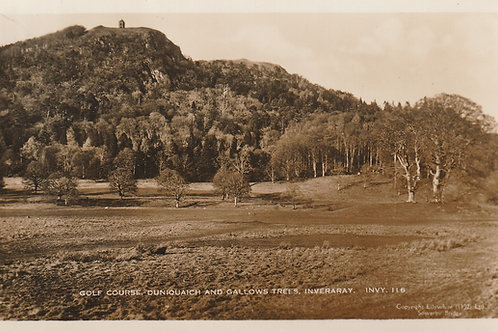 Inveraray Golf Course & Duniquaich Hill Ref.1498a C.1930s
