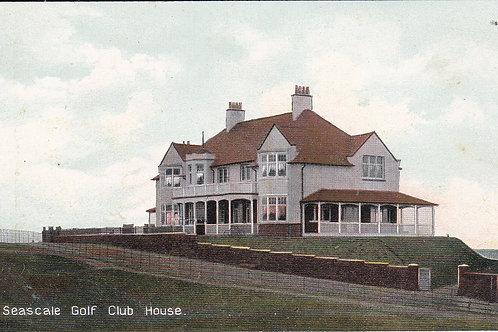 Seascale Golf Club House Ref.883 C.Pre 1914
