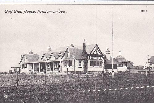 Frinton-on-Sea Golf Club House Ref.854 C.Pre 1914