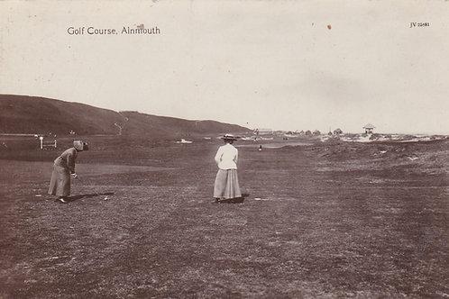 Alnmouth Village Club  Ref.1272a C.Pre 1914