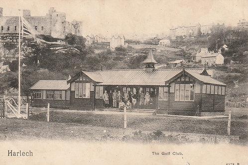 Harlech Golf Pavilion & Castle Ref.2417 C.Pre 1904